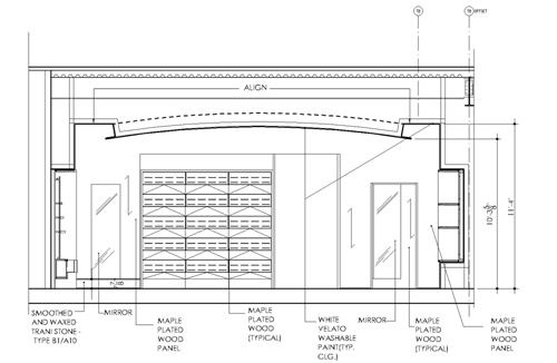 False Ceiling Plan Elevation Section : Can more be charged for the merchandise because